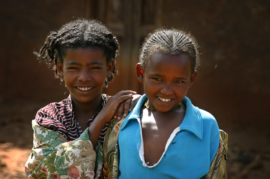 Two Ethiopian Girls