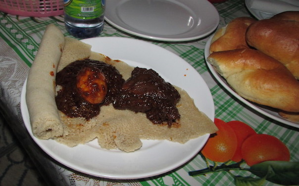 Doro wat and injera: it's what's for dinner!